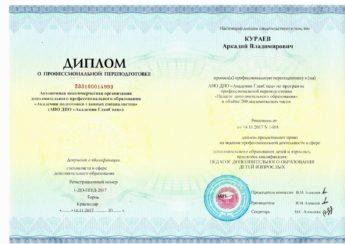 диплом - Кураев